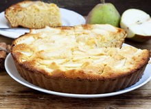 Pear Pie Royalty Free Stock Image