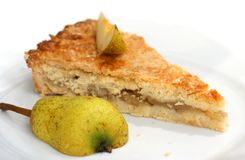 Pear pie Stock Photo
