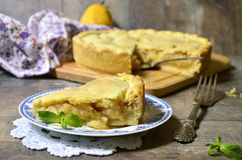 Pear pie. Stock Photo