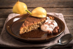 Pear pie Stock Images