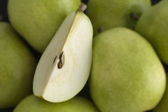 Pear portion Royalty Free Stock Photo