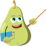 Pear professor Royalty Free Stock Photography