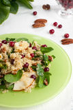 Pear quinoa salad Royalty Free Stock Photography