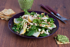 Pear salad Royalty Free Stock Images