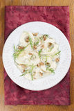 Pear salad Royalty Free Stock Photo