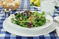 Pear salad Stock Image