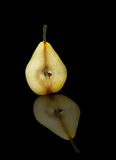 Pear section Royalty Free Stock Images