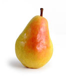 Pear with shadow Stock Photos
