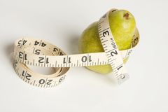 Pear shape figure Royalty Free Stock Images