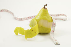 Pear shaped,weight loss Stock Photos