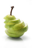 Pear Slices Stock Image