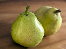Pear, small depth of sharpness Royalty Free Stock Photos