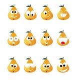 Pear smile Royalty Free Stock Photo
