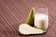 Pear Smoothie Stock Images