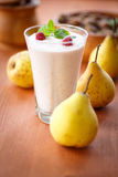 Pear smoothie Stock Photos