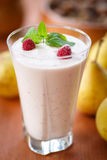 Pear smoothie Royalty Free Stock Photography