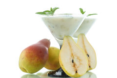 Pear smoothie Royalty Free Stock Photos