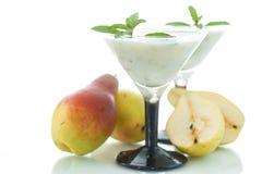 Pear smoothie Stock Photo