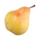 Pear som isoleras på white Arkivfoto
