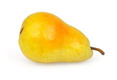 Pear som isoleras på white Arkivbild