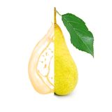 Pear splash Royalty Free Stock Photo