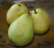 Pear still life Royalty Free Stock Photography