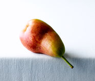 Pear on Table cloth Royalty Free Stock Photography
