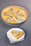 Pear tart Royalty Free Stock Photos