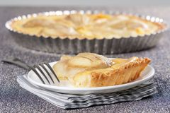 Pear tart Stock Photography
