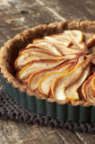 Pear Tart Stock Image
