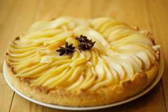 Pear tart Stock Images