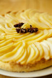 Pear tart Royalty Free Stock Photo