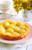 Pear tarte tatin Royalty Free Stock Images