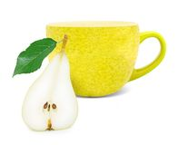 Pear tea Royalty Free Stock Images