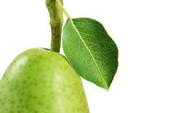 Pear topping Royalty Free Stock Images