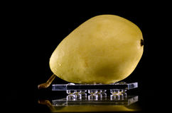 Pear on a tray Royalty Free Stock Photo