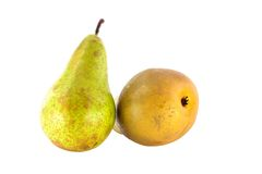 Pear varieties Conference Stock Photo