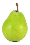 Pear. Variety Alexander Lucas - isolated on white background Royalty Free Stock Photos