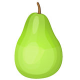 Pear, vector illustration Stock Images