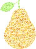 Pear Vitamins Concept. Vector Illustration vector illustration