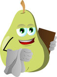 Pear waiter Royalty Free Stock Image