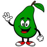 Pear Waving Stock Images