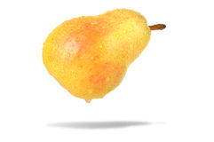Pear on white Stock Image