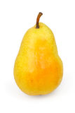Pear  on white Royalty Free Stock Image