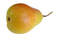 Pear on white Royalty Free Stock Photography