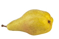 Pear on white background Royalty Free Stock Images