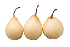 Pear. On a white background Stock Image