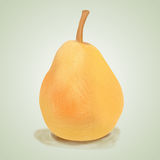 Pear on a white background Royalty Free Stock Photos