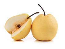 Pear on white background Royalty Free Stock Photography