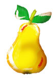 pear on a white background vector illustration